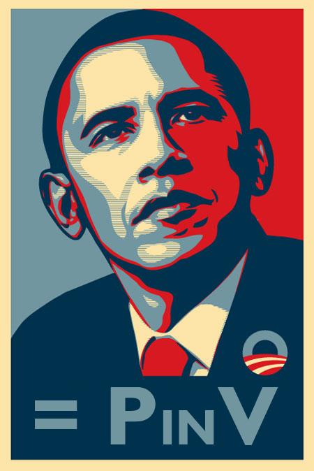 Barack = P in V